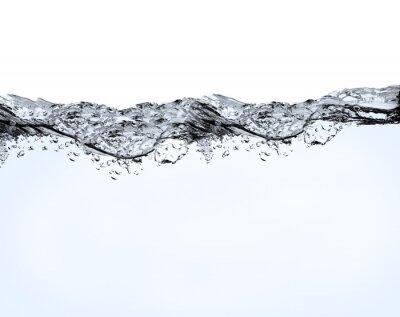 Naklejka Pęcherzyki powietrza w wodzie