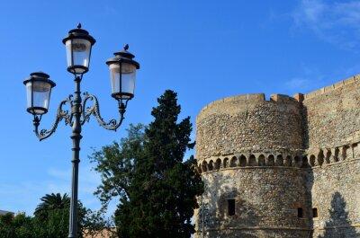 Naklejka Piazza Castello - Reggio Calabria