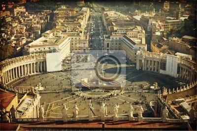 Piazza San Pietro, Watykan, Rzym