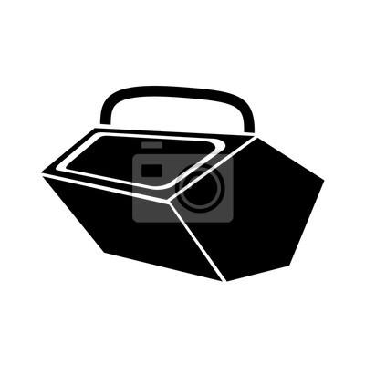 Naklejka Picnik zestaw ikon