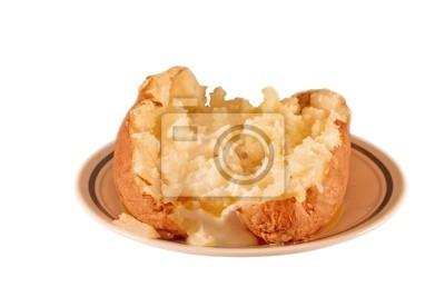Naklejka pieczone ziemniaki
