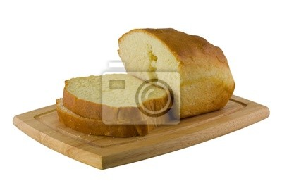 Naklejka pieczony chleb na pokładzie rozbioru