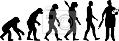 Naklejka Piekarz Piekarnia Evolution
