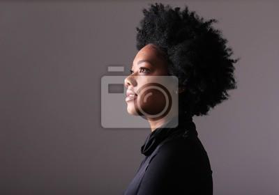 Naklejka Piękna afro kobieta