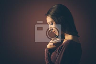 Piękna dziewczyna portret