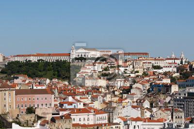 Naklejka Piękny widok z Lizbony