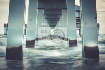 Naklejka Pier Fort Myers Beach