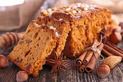 Naklejka piernik ciasto