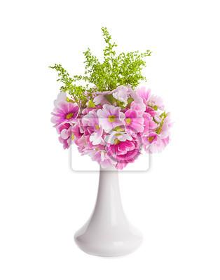 Pierwiosnek wiosna jest w bukiet, kwiatów w tle