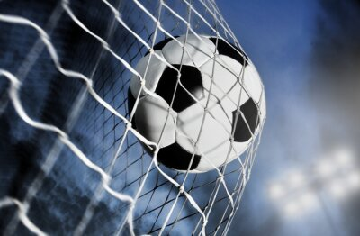 Naklejka Piłka Nożna Na Wymiar Nikt Na Zewnątrz Piłka Redropl