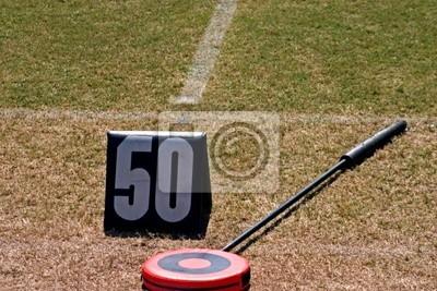 Naklejka piłka nożna 50 marker stoczni