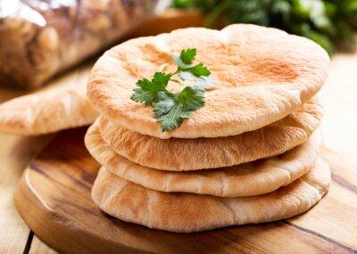 Naklejka pita bread