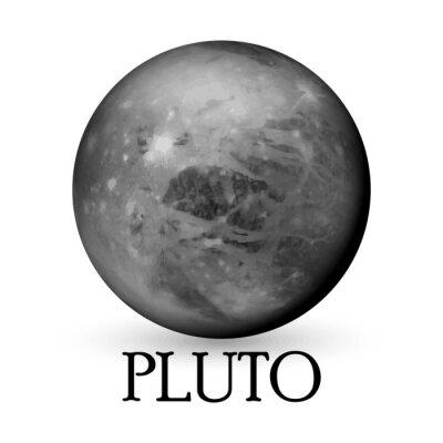 Naklejka Planet Pluto