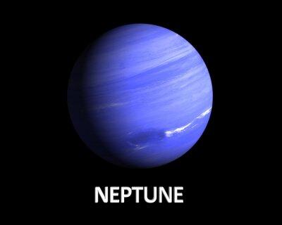 Naklejka Planeta Neptun