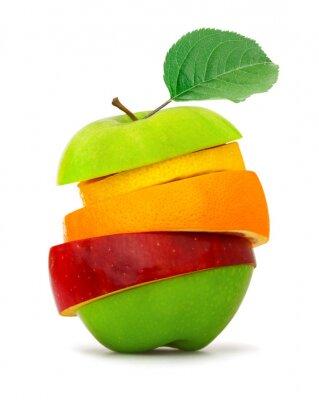 Naklejka Plasterki owoców