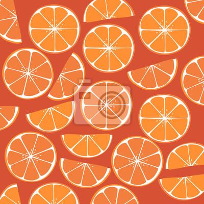 Naklejka Plastry pomarańczy