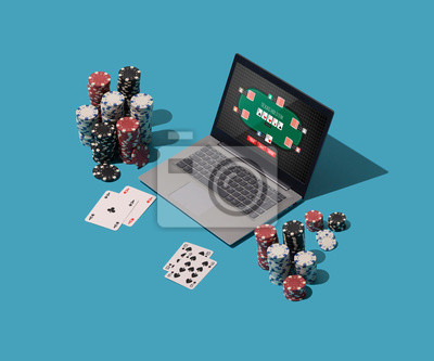 Playing Texas hold 'em poker online