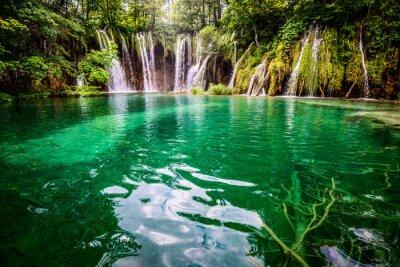 Naklejka PlitvickaJezera park narodowy Chorwacji