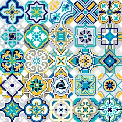 Naklejka Płytki Marocco