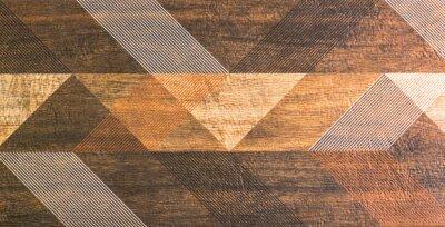 Naklejka Płytki z geometrycznych kształtów