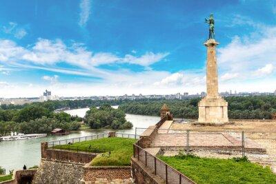 Naklejka Pobednik pomnik w Belgradzie