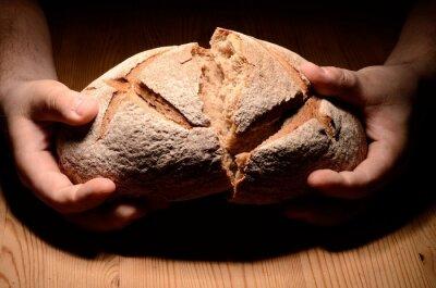 Naklejka Podziel chleb