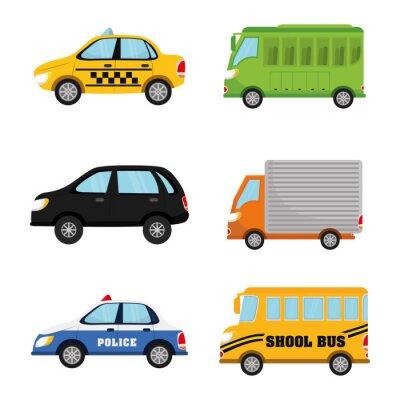 Naklejka Pojazdy i transport