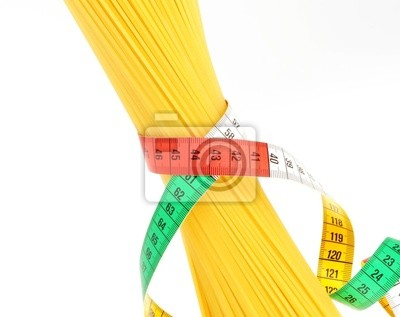 Pojęcie diety, Spaghetti z miarką