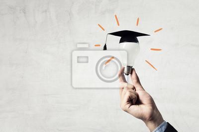 Naklejka Pojęcie edukacji biznesowej