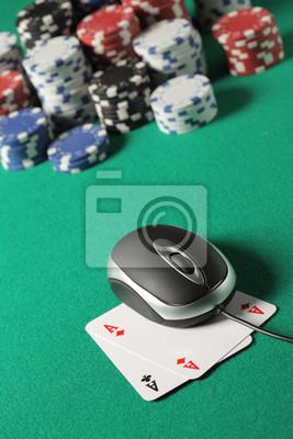 Poker na koncepcji linii