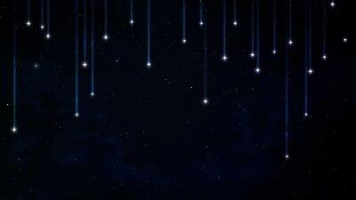 Naklejka Pokojowe tło, niebieskie niebo noc. Elementy dostarczone przez NASA