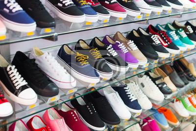 Naklejka Półki na buty casual