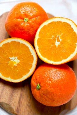 Naklejka pomarańcze