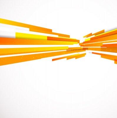 Naklejka Pomarańczowe tło wektor