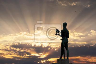 Naklejka Pomnik zwycięzcy Belgradzie