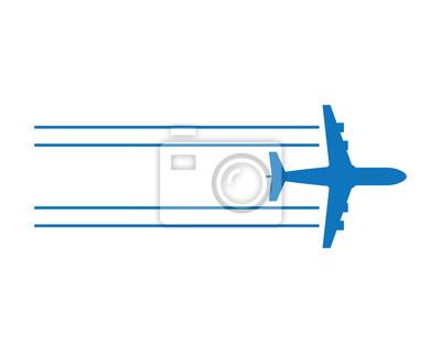 Naklejka Powietrze Płaski, Taveling Logo