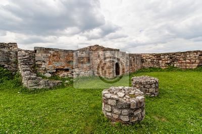 Pozostałości średniowiecznej twierdzy, Belgrad Serbia