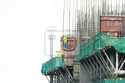 pracowników budowlanych