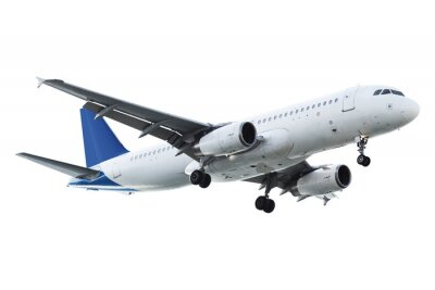 Naklejka Prawdziwe samolot odrzutowy