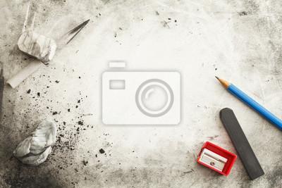 Naklejka Proces Twórczy sztuki