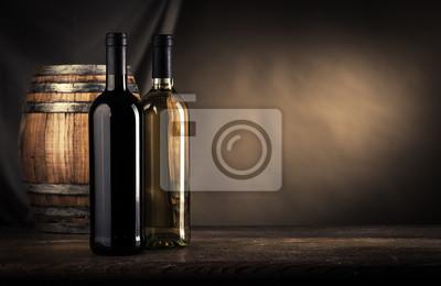 Produkcja wina martwa natura
