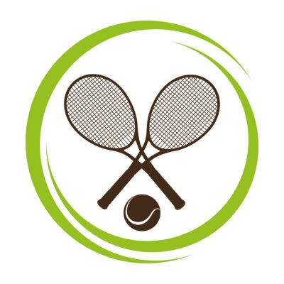 Naklejka Projekt Sport, ilustracji wektorowych.