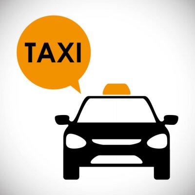 Naklejka Projekt taxi