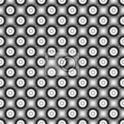 Projektowanie bez szwu deseń monochromatycznych