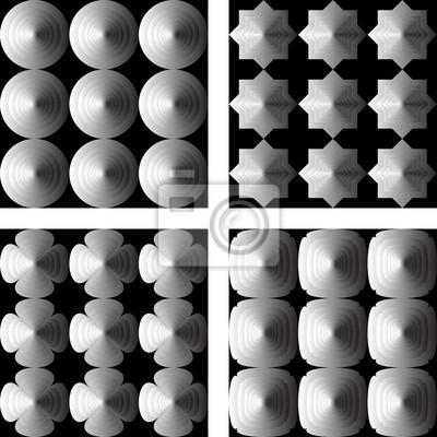 Naklejka Projektowanie bez szwu geometryczny wzór