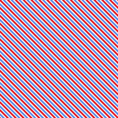 Naklejka Przekątna paskiem szwu. Geometryczne klasycznym niebieskim i różowym tle linii.
