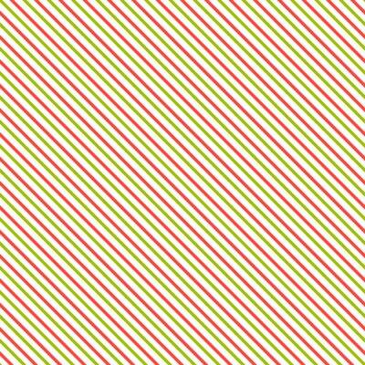 Naklejka Przekątna paskiem szwu. Geometryczne klasycznym zielonym i czerwonym tle linii.