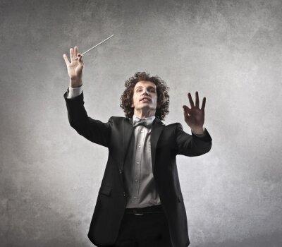 Naklejka Przeprowadzenie Orchestra