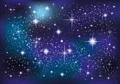 Naklejka Przestrzeń i gwiazdy.