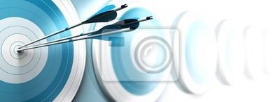 Naklejka przewagę konkurencyjną, koncepcja strategiczna marketing